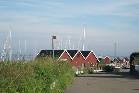 Havsutsikt vid Hvens backafall - Sankt IBB - Apartmen