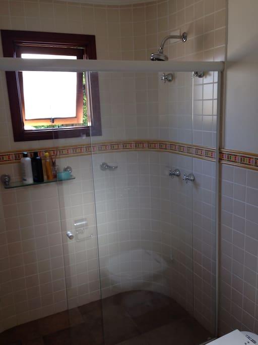 Melhor banho da casa!