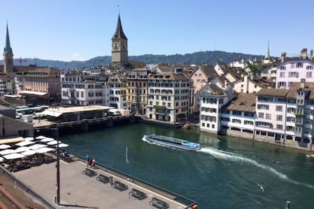 Best location in City Center/Limmat