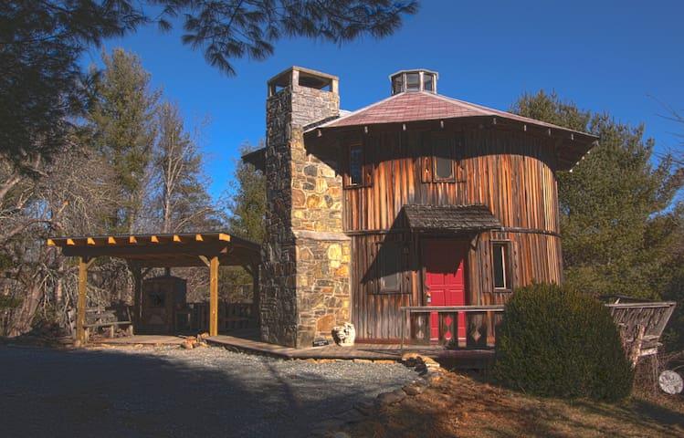 Unique Roundhouse - Linville Falls - Haus