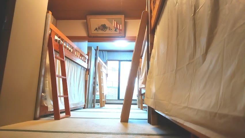 13Beds large room@ASAKUSA Family& bAKpAK