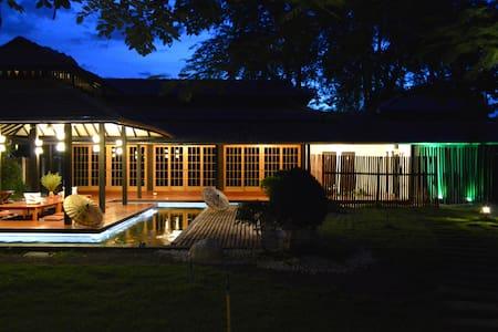 Lovely Japanese Style Garden Villa - San Kamphaeng