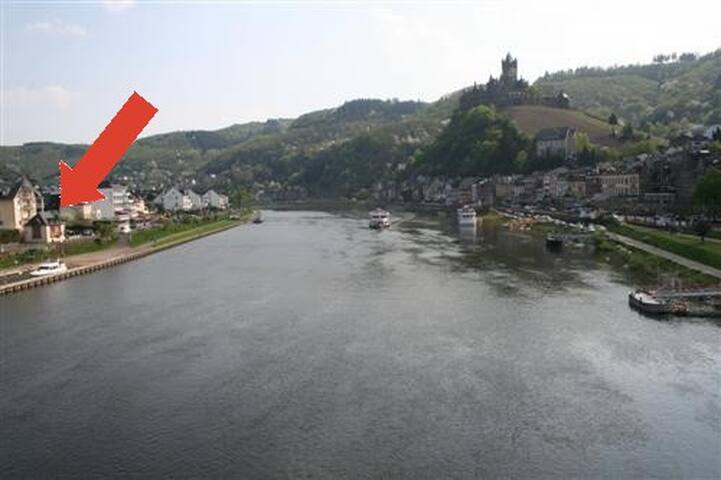 Ferienhaus  Cochem with grand view of the Moselle