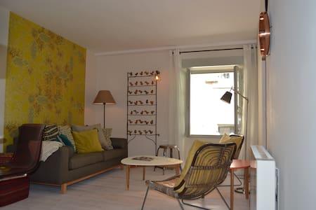 Les Oiseaux Maison village terrasse - Haus