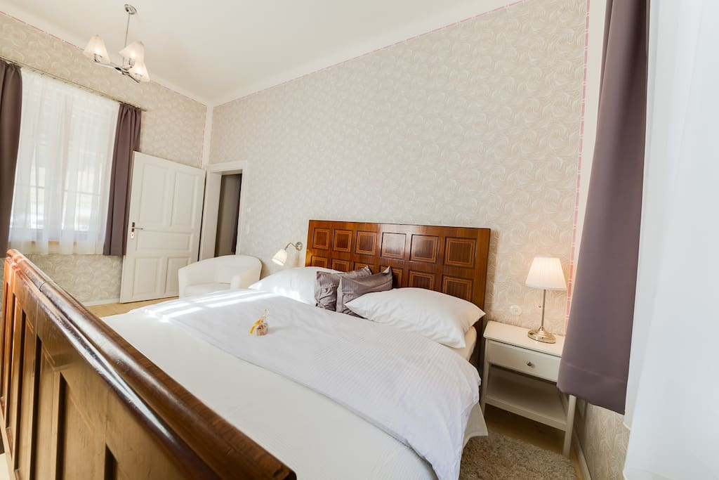 Appartement Himmelstreppe - Schlafzimmer