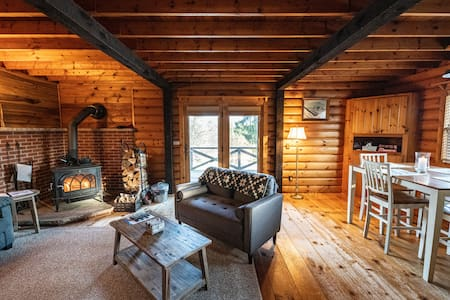 Elk Mountain Ski Resort: Rustic Home on 21 Acres