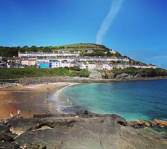 Eco Haven at New Quay Beach