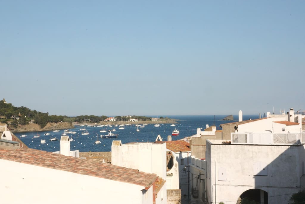 VISTA DESDE LA TERRAZA - View from the terrace