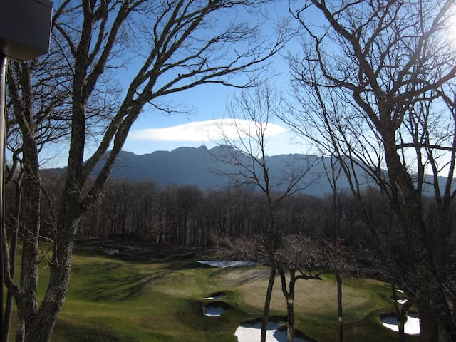 Condominium with view of Grandfather Mountain - Linville - Condominium