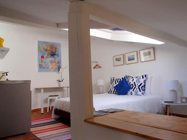 Studio Bleu-Coton, Moustiers - Moustiers-Sainte-Marie - Apartamento