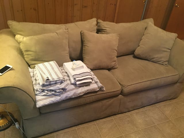 Comfy couch in South Tyler