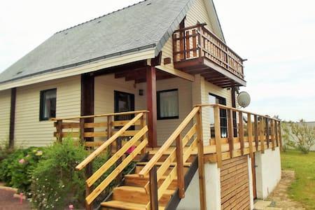 maison bois proche plages - Assérac - Hus