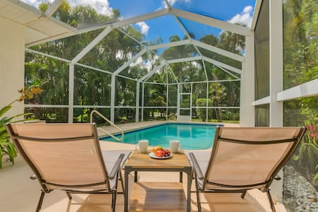**Private Heated Pool & Beach House**