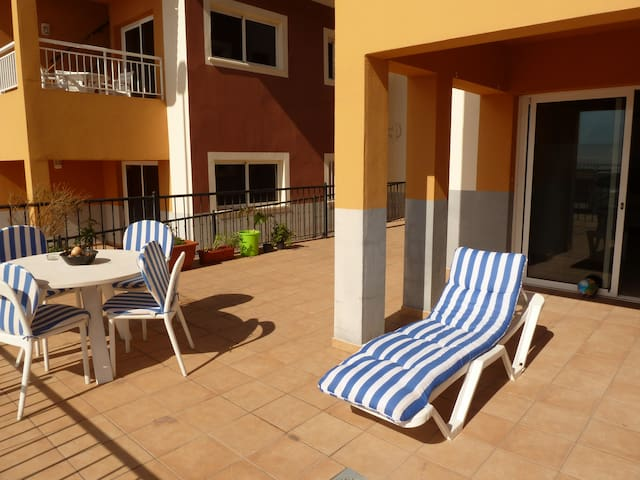One bedroom apartment with terrace in Tenerife