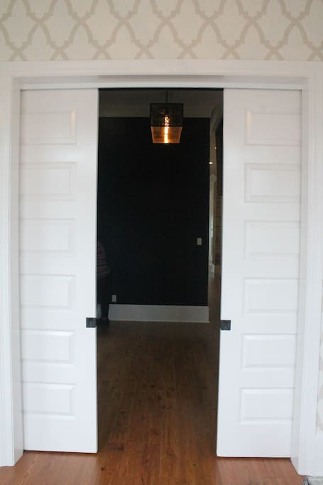 Entry Room leads to dining room