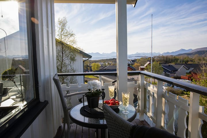 Big house in Vesterålen with a beautiful view!