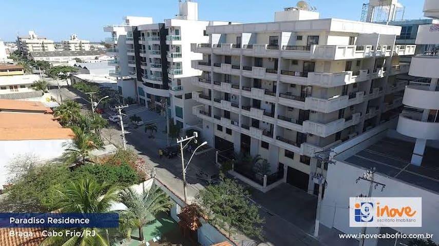 Cobertura , duplex próximo à Praia no Braga em CF