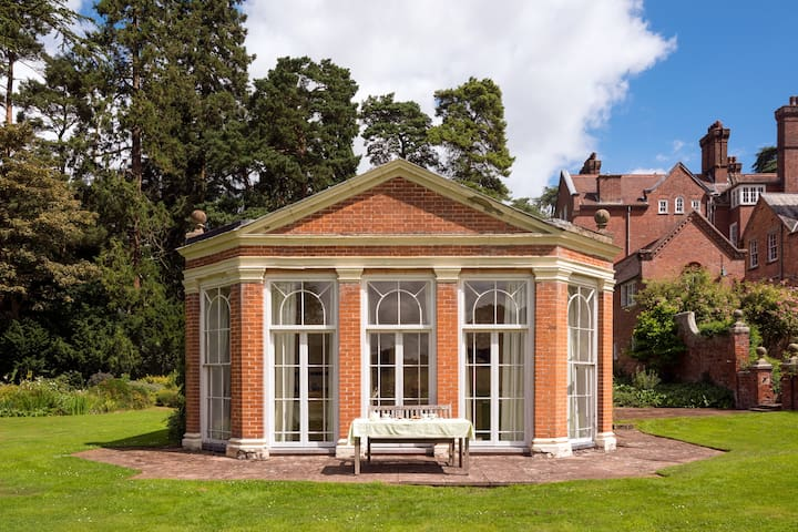 The Orangery, Henley Hall, a tranquil get away!