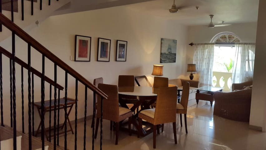 3BHK duplex in Betim with a view of River Mandovi