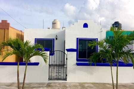 Casa Luna w Private Pool! Walk to Xcacel Beach