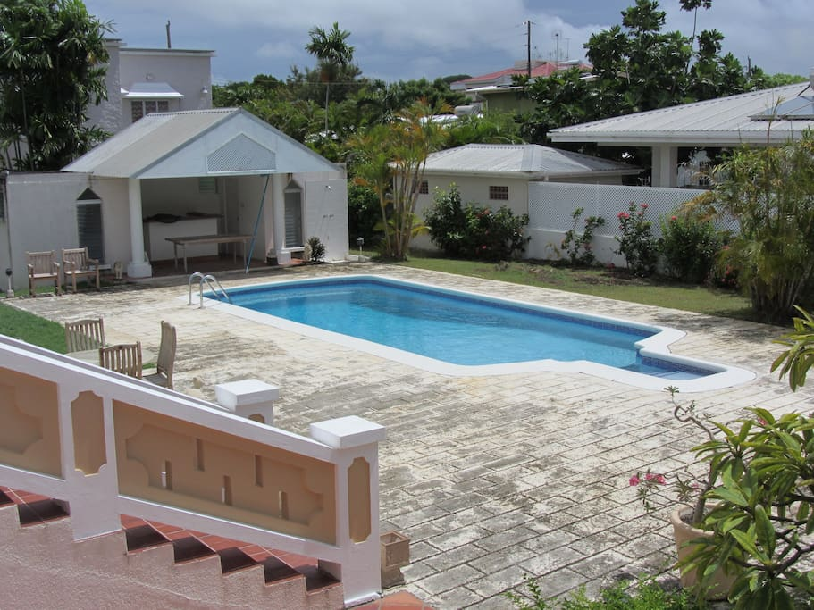 Pool Area with Pool Bar, Shower, Washrooms and Changing Facilities