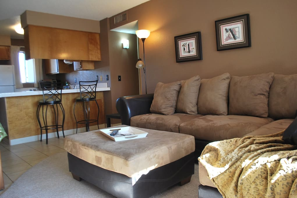 Living Room ( Decor and set up may could vary)