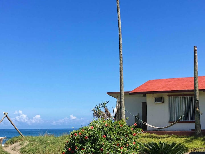 Casa del Cangrejo Azul - Costa Esmeralda, Ver.