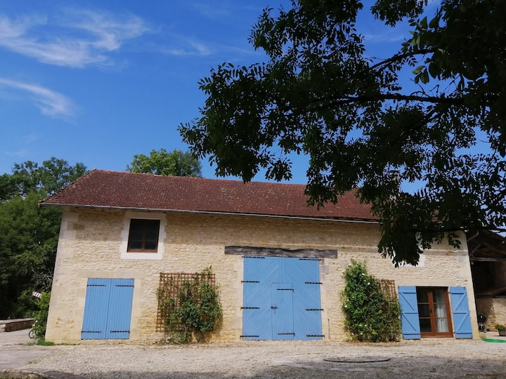 Stunning concerted barn with gorgeous private pool
