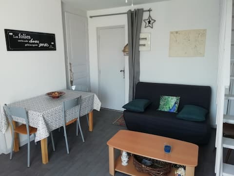 Appartement en duplex proche des lacs