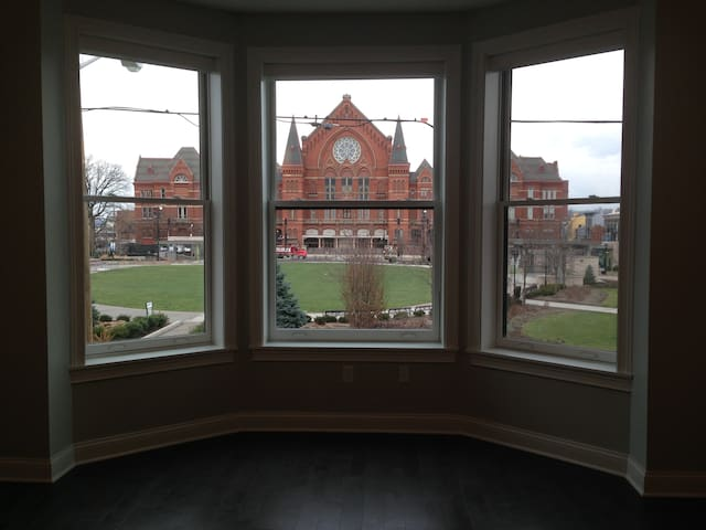 Condo on Washington Park w view of Music Hall