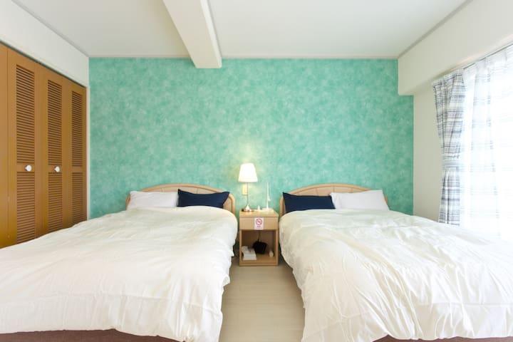 Superior Ocean view beach resort - Onna-son - Appartement