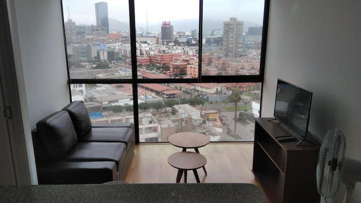 Apartamento de excelente vista cerca de San Isidro