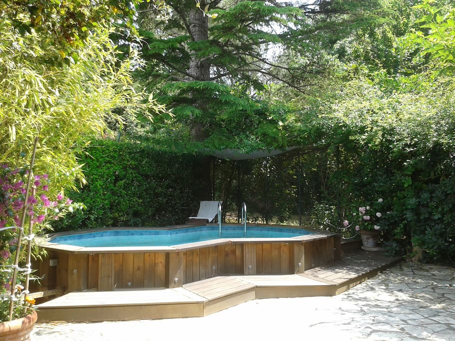 Grand studio ds jardin avec piscine wohnungen zur miete for Piscine montpellier