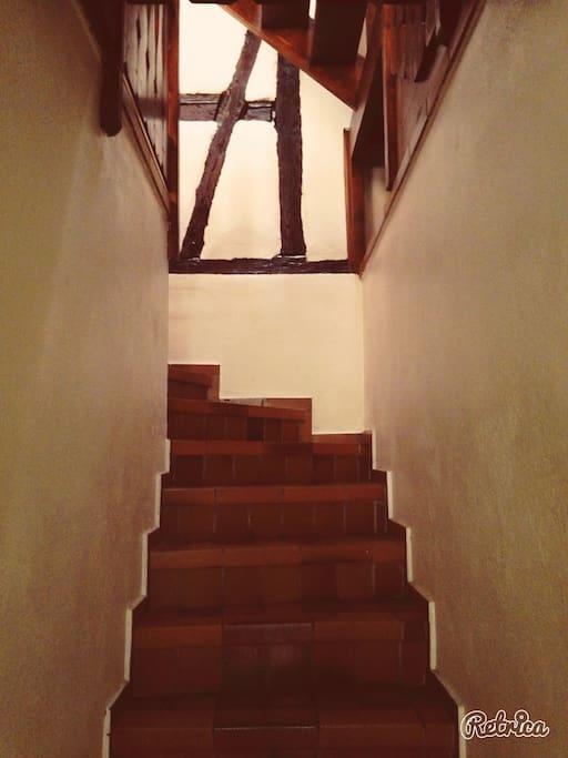 Montée vers le 1er étage