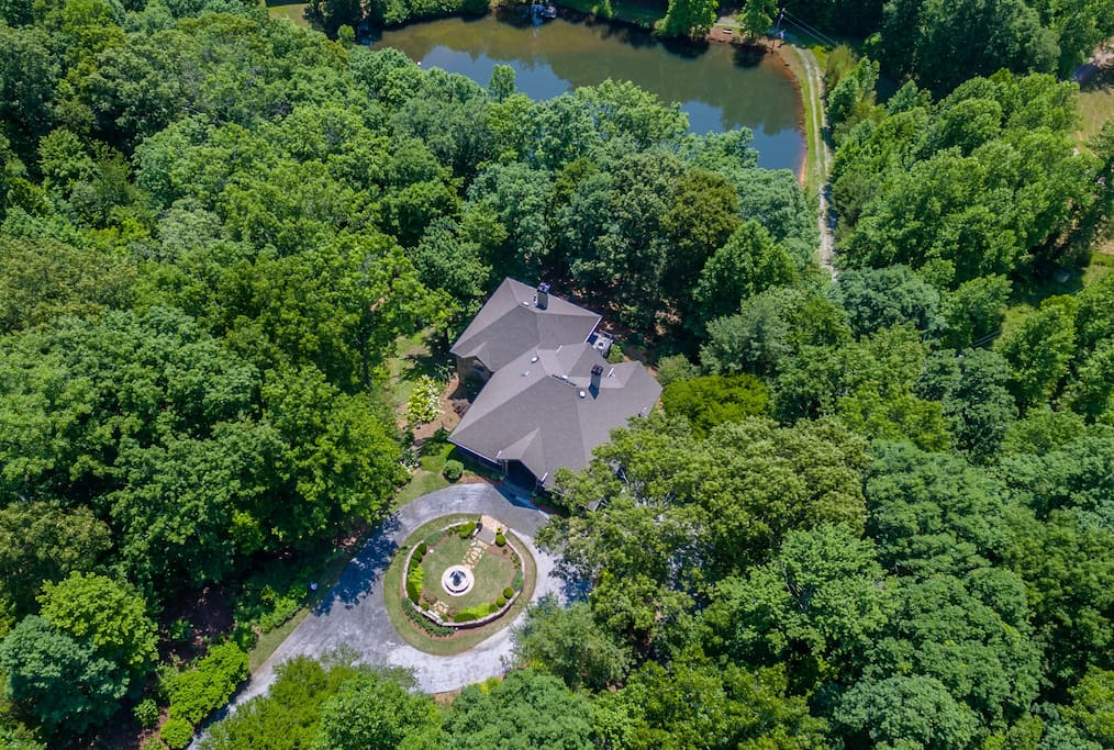 Birchwood Lake Estate Aerial Photo