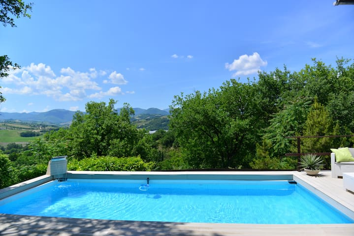 Villa la chiesetta piscina privata - Marche, IT fabriano