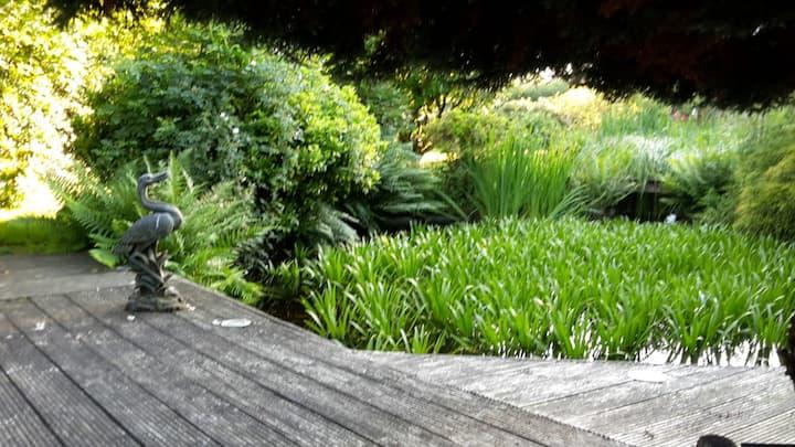 Gemütliches Kutschenhaus mit Garten nahe Hamburg