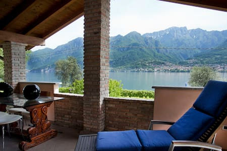 House on Lake of Como with beach - Onno - 公寓