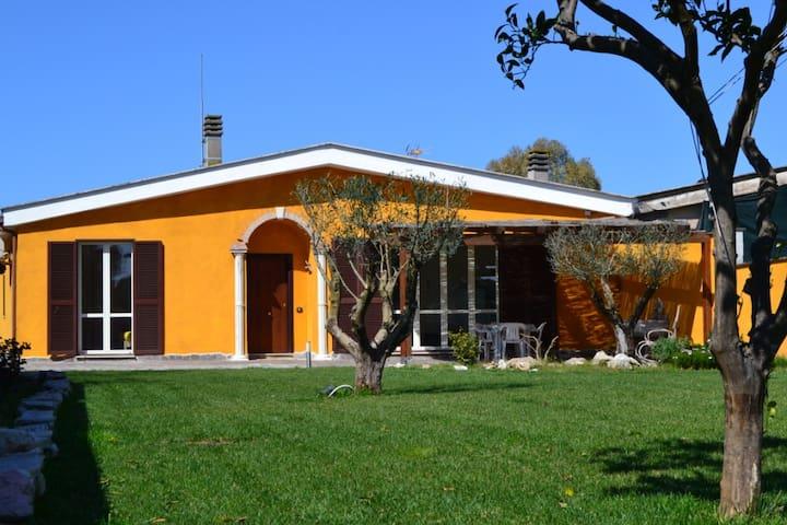 SinequaRoma  Matrimoniale in Villa