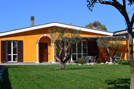 SinequaRoma  Matrimoniale in Villa - Acilia-Castel Fusano-Ostia Antica