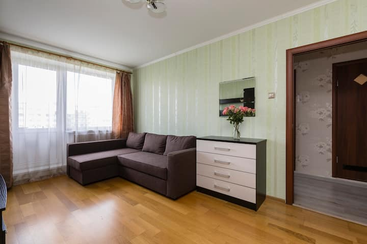 Уютная квартира рядом с метро