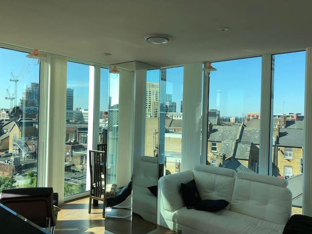 Modern Apartment With Panoramic Views