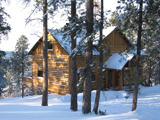 Luxury Cabin in Black Hills SD, Terry Peak,Deadw
