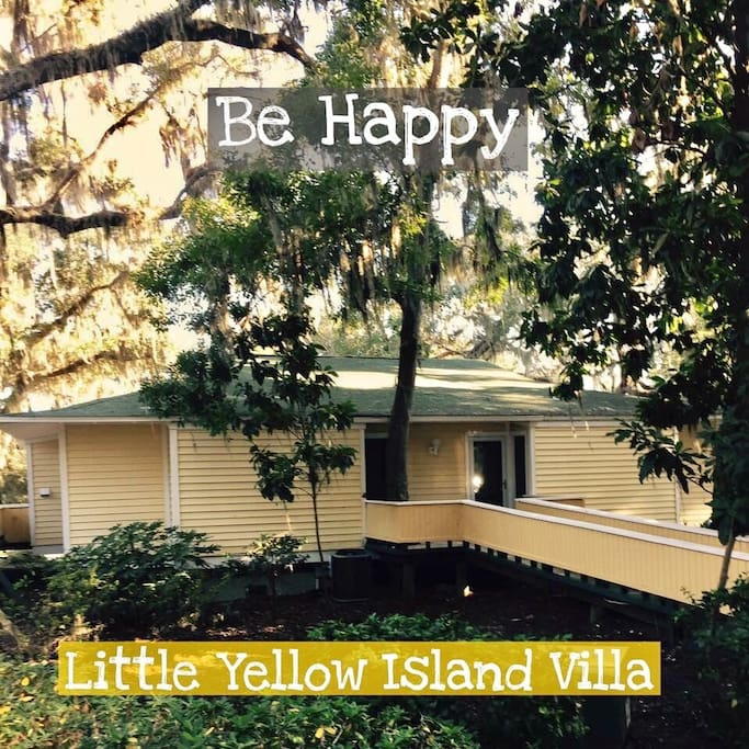 Be HAPPY at the Little Yellow Island Villa!