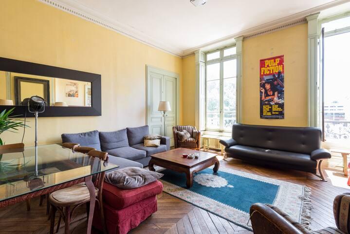 Chambre tout confort & hypercentre - Lyon - Apartemen