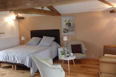 Chambre Eco-logis-de-valerie - Saint-Martin-du-Fouilloux