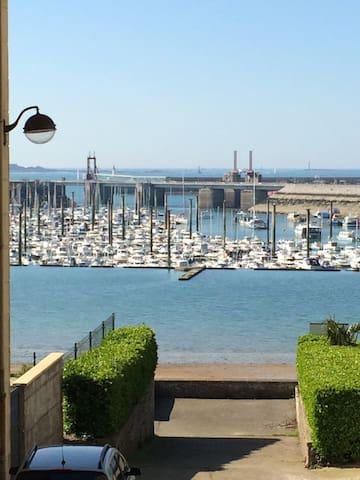 Agréable T3 Saint-Malo vue port - Sant-Malo - Pis