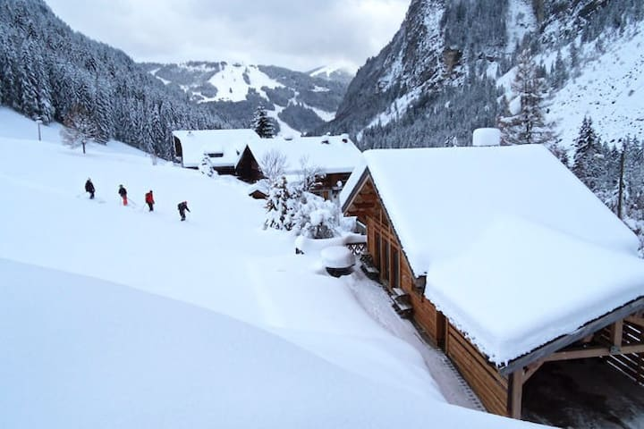 Ski home to the terrace