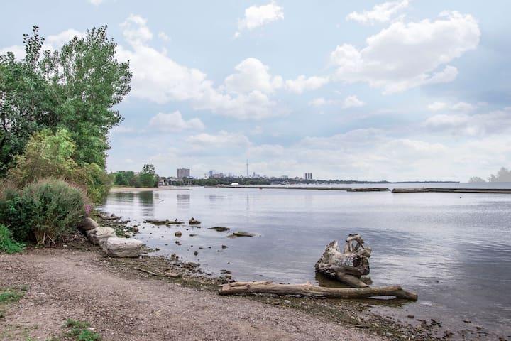 Stunning Waterfront Condo Lakeshore - Toronto - Lejlighed