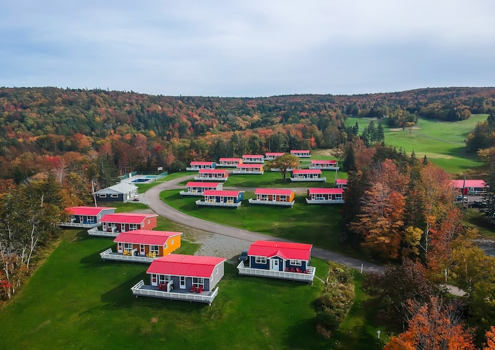 Cottages at Dundee Bras d' Lake in Cape Breton